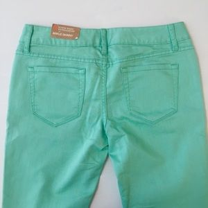 Mossimo Supply Co. Jeans - Mossimo light green skinny ankle jeans NWT